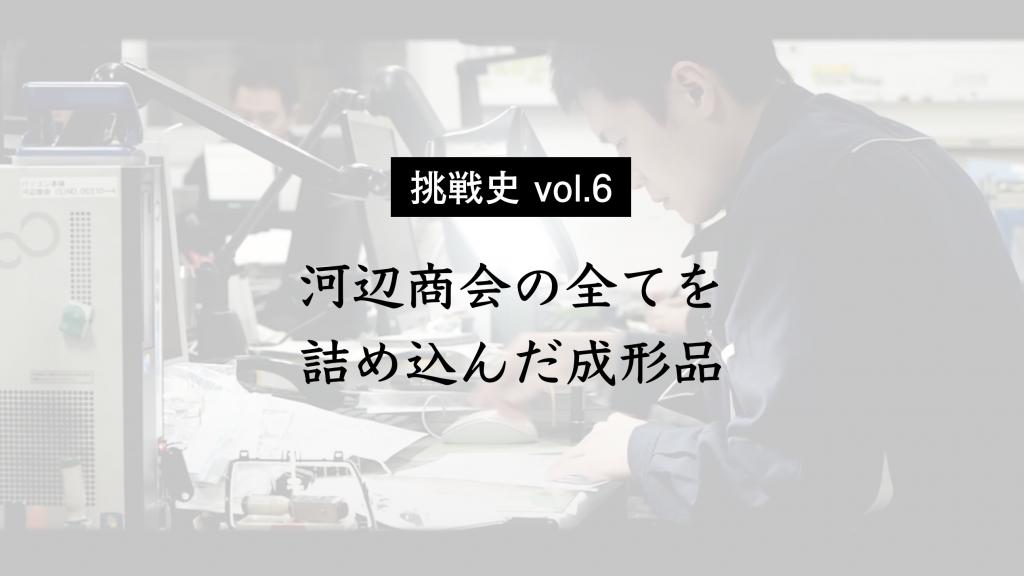【挑戦史 vol.6】メタリック材着ウエルドレス成形工法の確立